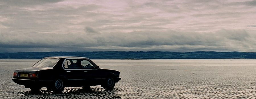 Production from the film, Blood, at West Kirby beach