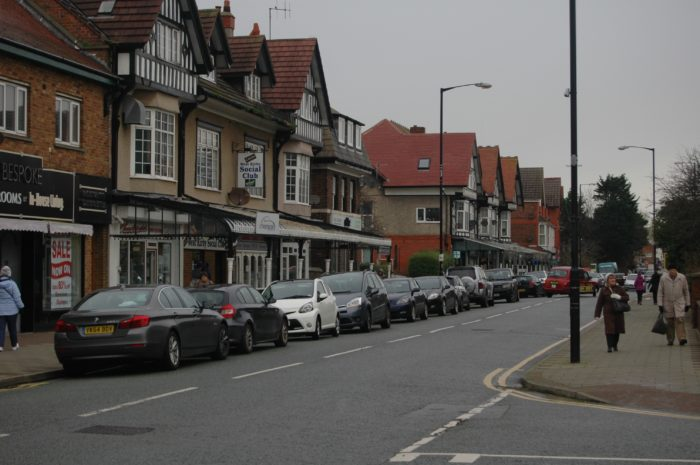 Banks Road, West Kirby - earmarked for improvements