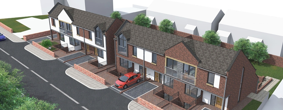Planning application submitted for luxury housing development