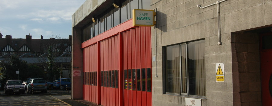 Being phased out: West Kirby fire station