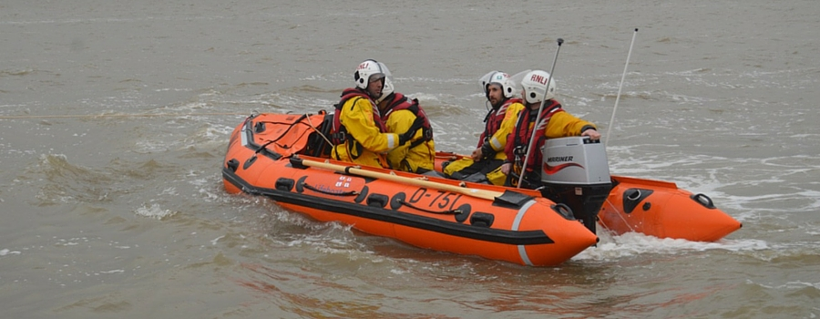 West Kirby lifeboat crew rescue man with hypothermia in late night search