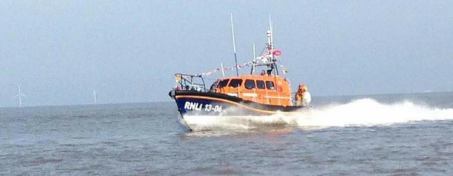 Hoylake's Shannon Class lifeboat