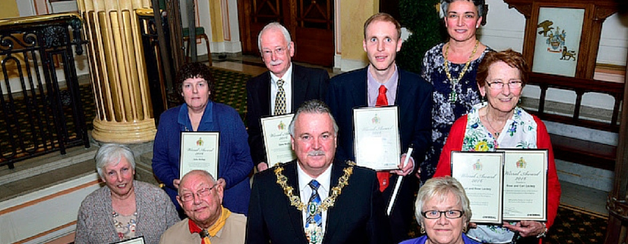 West Kirby residents honoured for community work
