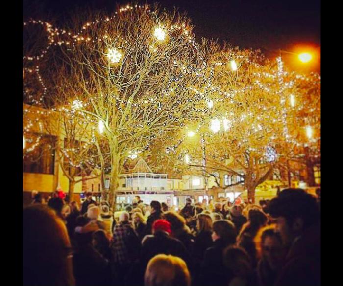 West Kirby Christmas lights