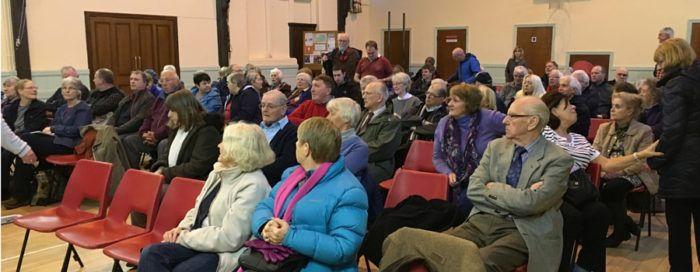 Angry residents vote to oppose Hoylake Golf Resort plan at public meeting
