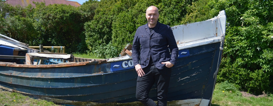 Celebrity chef and strictly come dancing contestant Simon Rimmer host's his very own little viking workshop