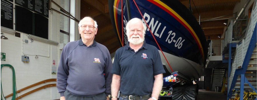 Lifeboat chairman steps down, to be replaced by another RNLI stalwart
