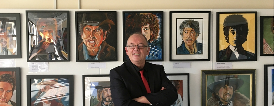 Artist's spectacular West Kirby birthday tribute to Bob Dylan