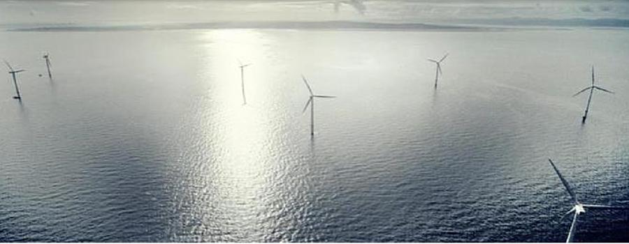 Construction begins on extension of wind farm 7km off Hoylake coast.