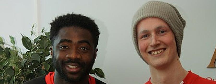 Jack with Kolo Toure