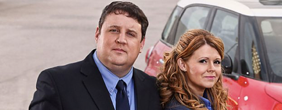 Peter Kay's Car Share filming in West Kirby today