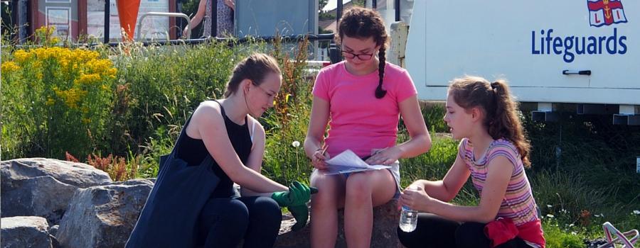 West Kirby Grammar School girls launch beach litter tidy-up project