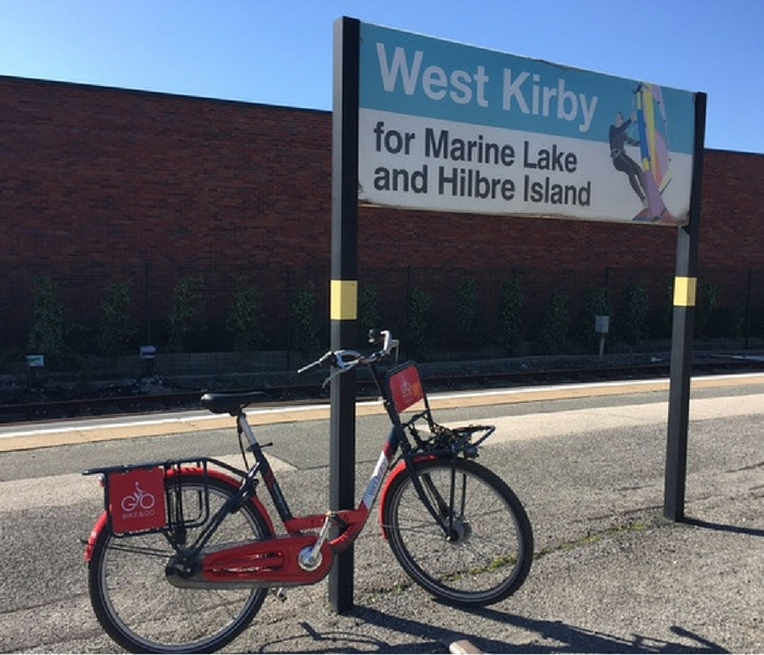 Free Pedal 'n' Picnic event at West kirby train station