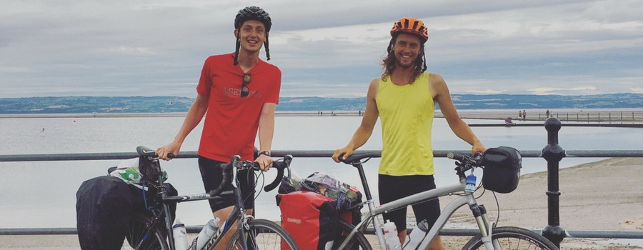 West Kirby student cycles over 2000 miles from Morocco to West Kirby