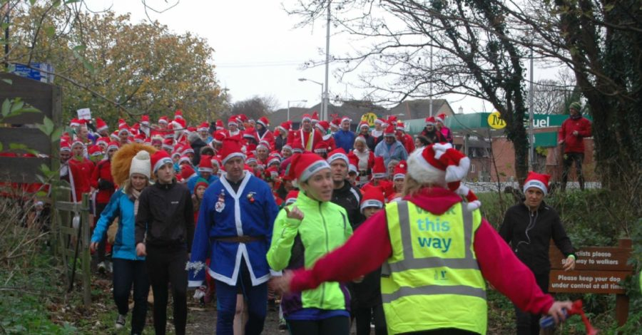 Hurry and get your tickets for the 2016 West Kirby Santa Dash