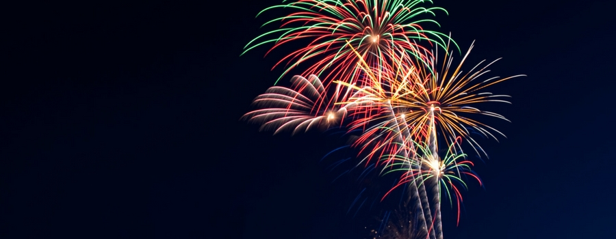 Where to see fireworks this coming weekend