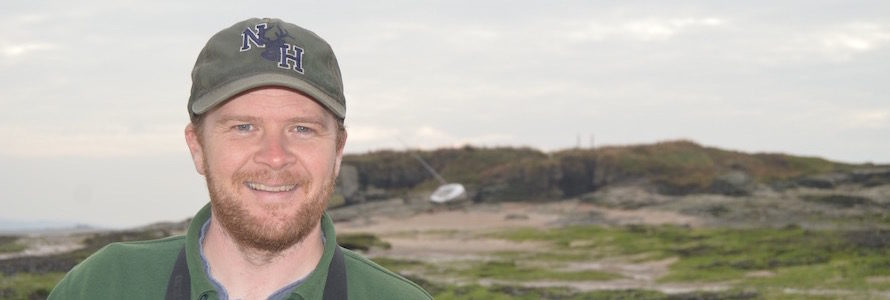 Wirral Council ranger Matt Thomas on Hilbre Island