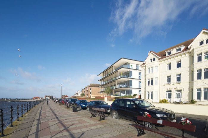 South Parade, in West Kirby