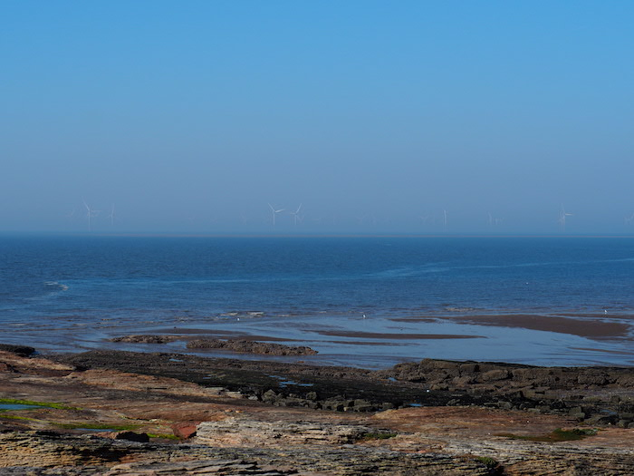 View from Hilbre Island