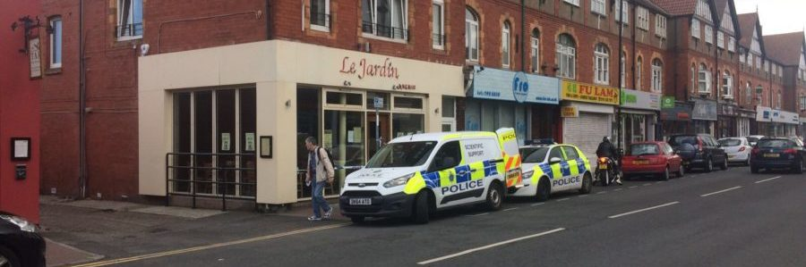 Police investigate armed robbery at Le Jardin