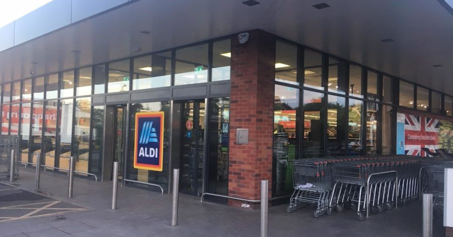 Aldi re-opens with 'fresh new look'