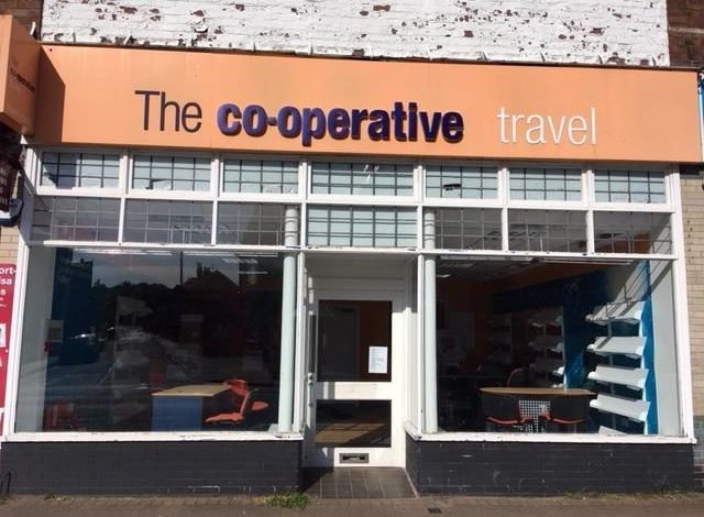 Co-operative Travel in West Kirby shuts