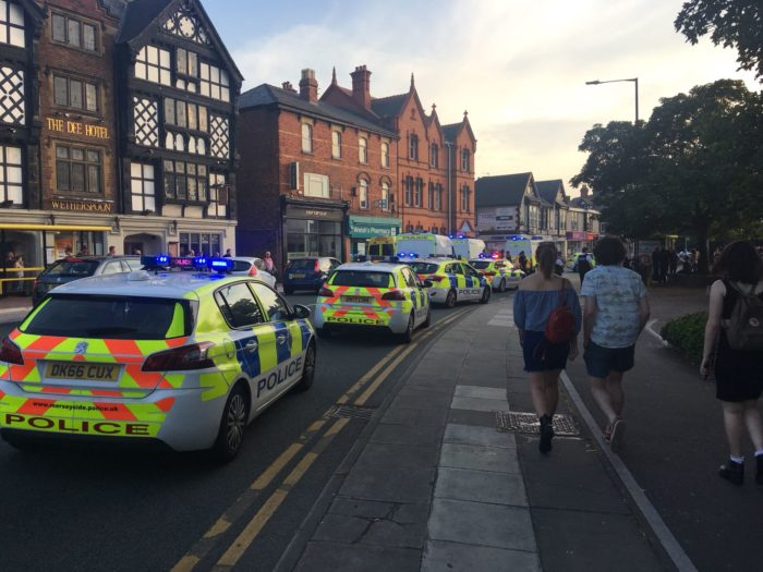 Police attend incident on Dee Lane