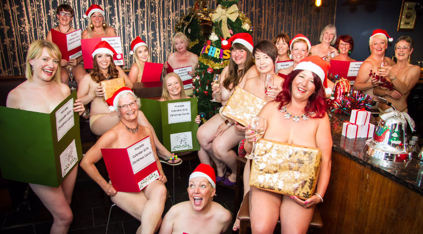 Meet Hoylake's Calendar Girls