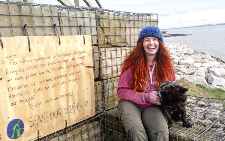 Young lifeguard calls for cleaner beaches