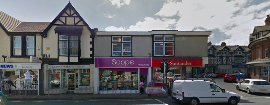 Santander in West Kirby is one of 140 branches across the UK to close