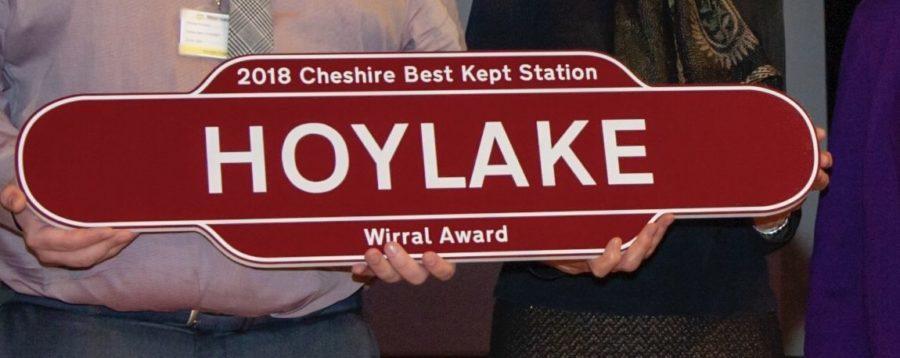 Hoylake railway station scoops Best Kept Station award