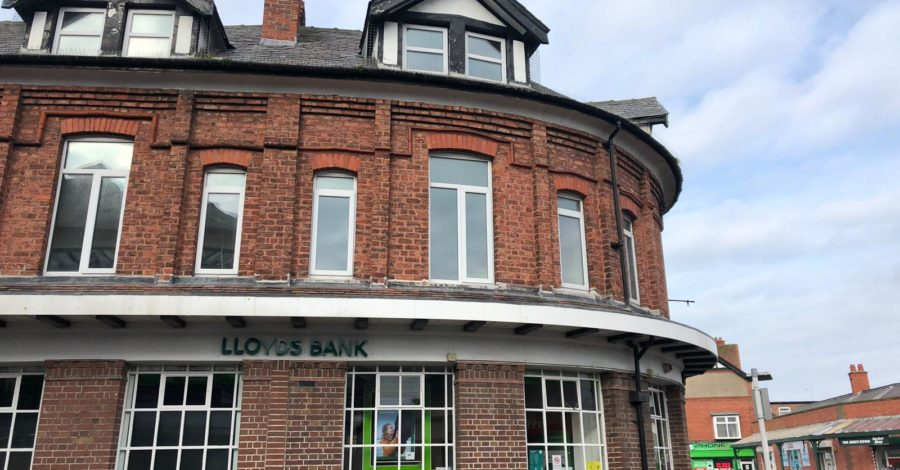 Apartments plan for floors above former Lloyds Bank