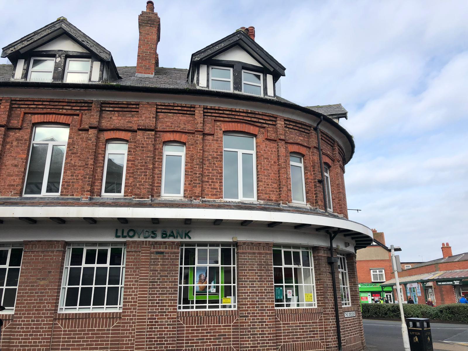 Lloyds Bank in West Kirby