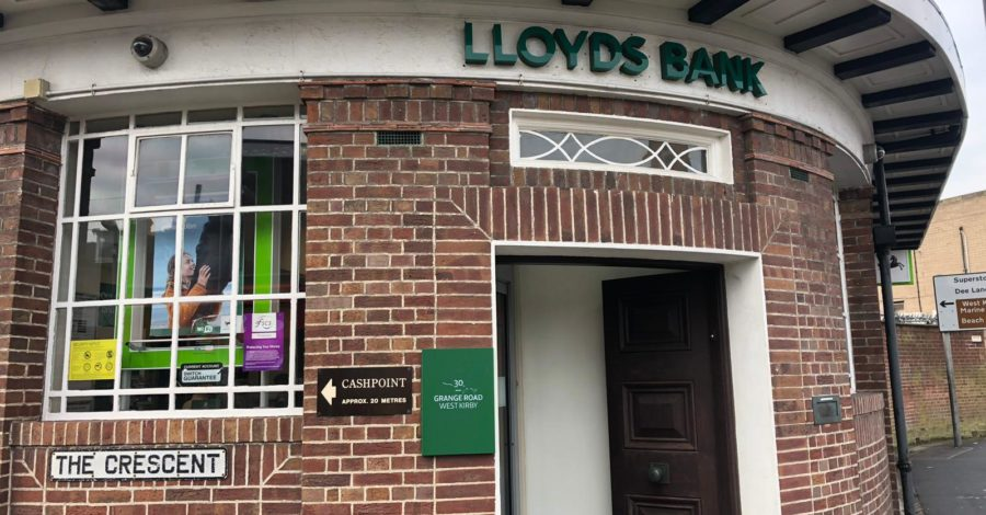 Lloyds Bank to close West Kirby branch
