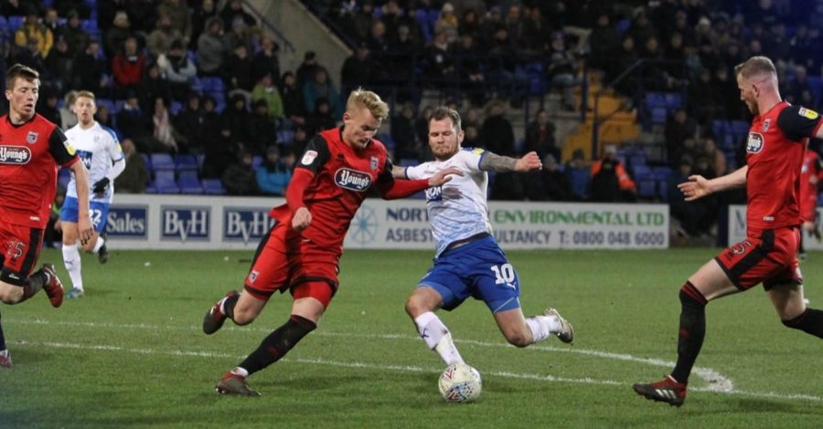 Grimsby blown away by Tranmere at Prenton Park