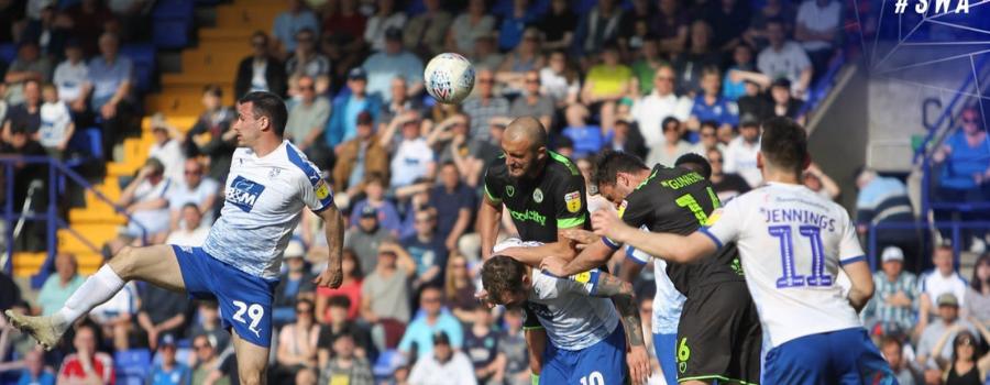 Rovers promotion dream still alive despite defeat