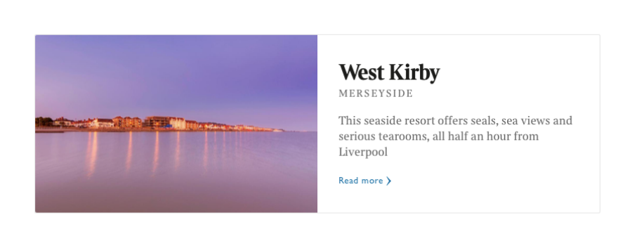West Kirby is officially one of the best places to live in Britain.