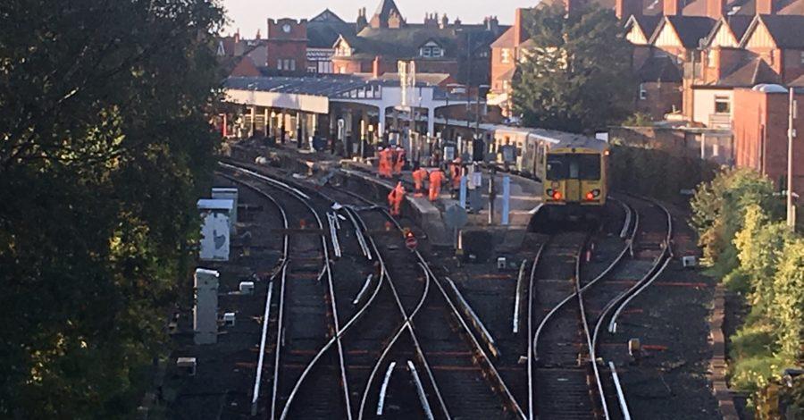 Platform work keeps residents awake