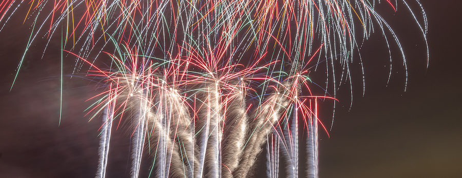 Where to see local fireworks displays this weekend