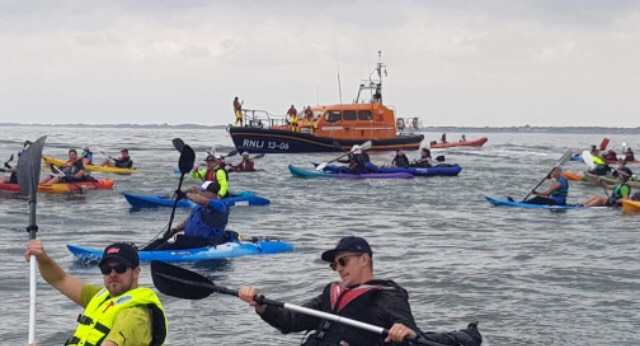 The Wirral Kayak Challenge