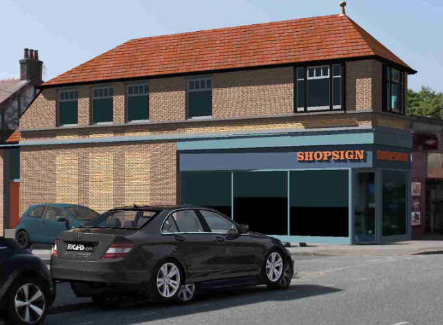 Banks Road shop row to be extended