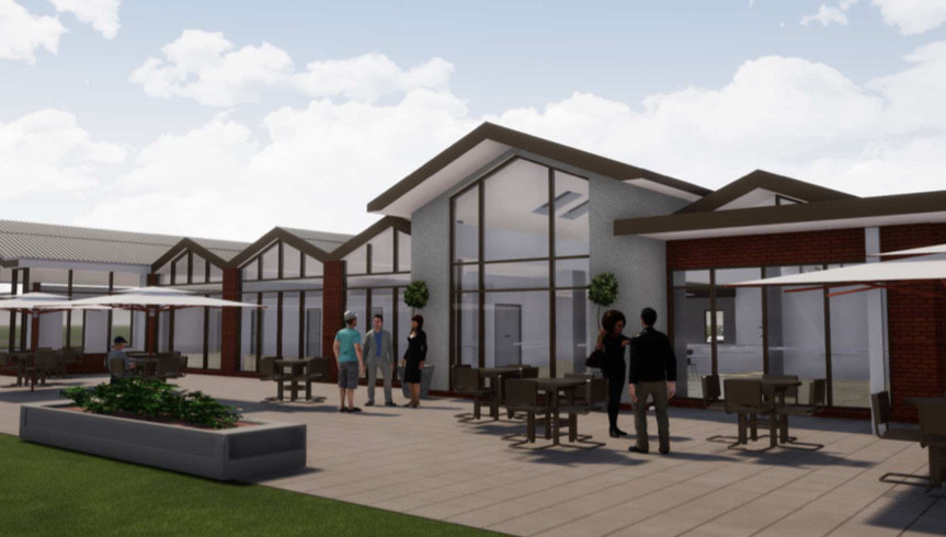 Proposed clubhouse at Caldy Golf Club