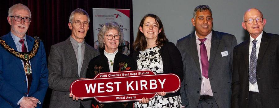 West Kirby & Hoylake stations scoop Cheshire Best Kept Stations Awards