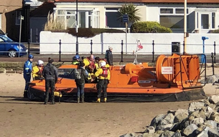 Two rescued after getting stuck in mud on West Kirby beach
