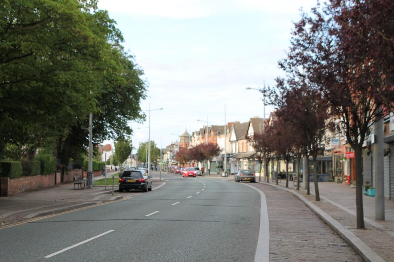 Market Street in Hoylake