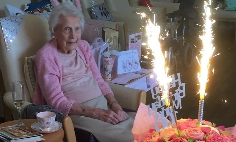 Muriel celebrates her centenary in style