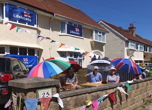 Hoylake street party boosts lifeboat coffers