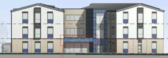 Plan submitted for new health centre