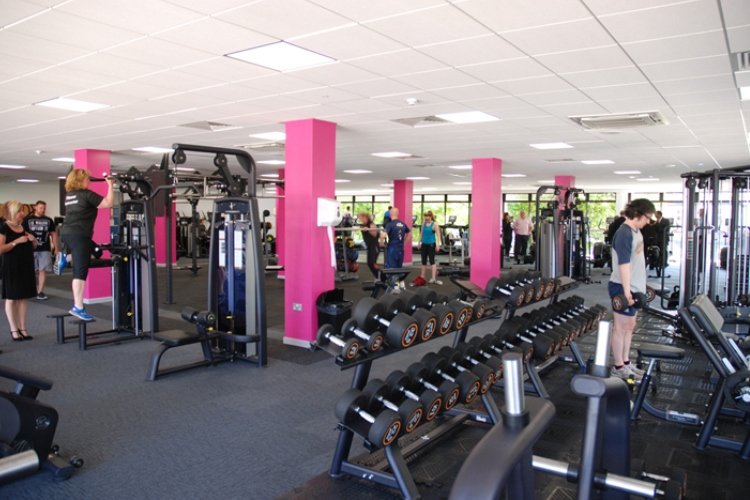 Fitness suite at West Kirby Concourse