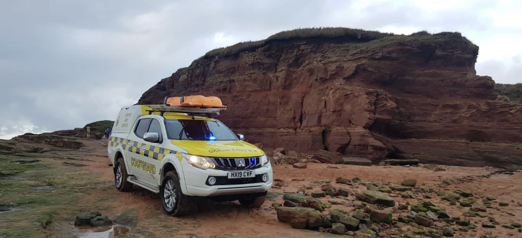 Two rescued in separate falls on Hilbre Islands